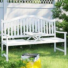 Gartenbank aus Holz Garten Living