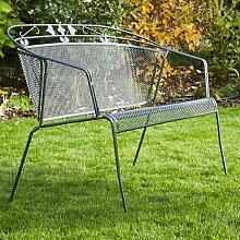 Gartenbank aus Stahl Satsuma Garten Living