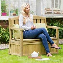 Gartenbank Caroline aus Holz Home & Haus