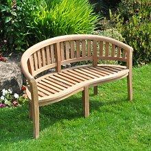 Gartenbank Dreketi aus Teakholz Garten Living