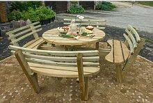 Gartenbank Jacquelyn aus Holz Garten Living