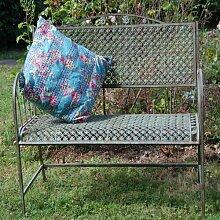 Gartenbank Leber aus Metall Garten Living