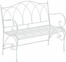 Gartenbank Marlow Home Co. Farbe: Weiß