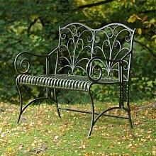 Gartenbank Newlin aus Stahl Garten Living