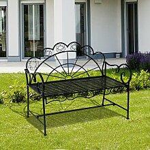 Gartenbank Orpington aus Gussaluminium Garten