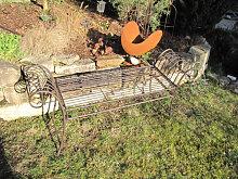 Gartenbank Panca aus Metall