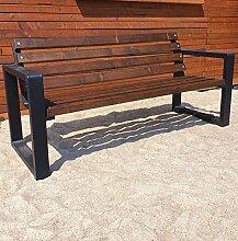 Gartenbank Parkbank Holzbank Massiv Sitzbank