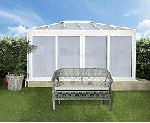 Gartenbank Shivani aus Rattan Garten Living
