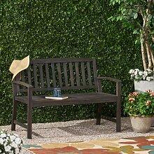 Gartenbank Virgie aus Teakholz Garten Living