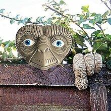 Gartenbaum Gesicht Statue Ornament skurrilen