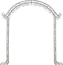 Gartenbogen Metall Retro Pergola Archway Outdoor