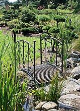 Gartenbrücke aus Metall Geländer GARTENBRÜCKE