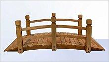 Gartenbrücke - Teichbrücke - Holzbrücke Natur