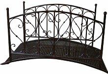 Gartenbrücke Teichbrücke Metallbrücke