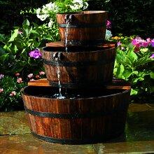 Gartenbrunnen Brinks aus Holz und Kunststoff Home