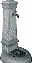 Gartenbrunnen Granit Volturno für Gartenmöbel