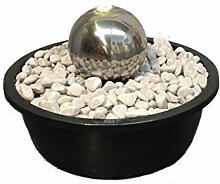 Gartenbrunnen Seliger® Edelstahlbrunnen Globe