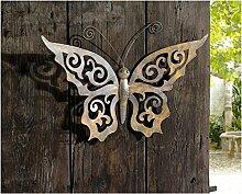Gartendeko aus Metall Schmetterling aus Metall mit