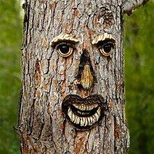 Gartendeko Baumgesicht Karl Kiefer