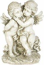 Gartendeko Gartenfigur Eden Engel Cherubin