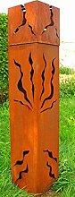 Gartendeko mit Würfel 100cm Laterne 2019