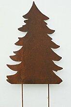Gartendeko Rost Baum große Tanne Tannenbaum Herbstdeko 140cm*