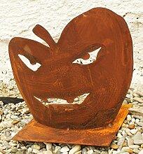 Gartendeko Rost Herbst Kürbis Halloween Herbstdeko