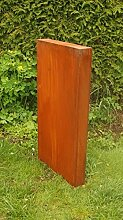 Gartendeko Rost Säule aus 1 Teil Modern