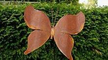 Gartendeko Rost Schmetterling Stecker 190cm*