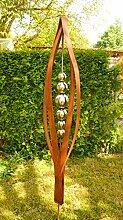 Gartendeko Rost Skulptur 2 Meter Tulpia*