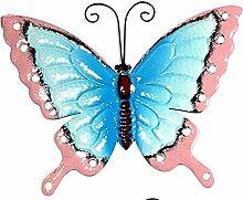 Gartendeko Schmetterling versch. Farben, Farbe:blau
