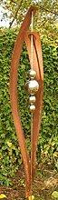 Gartendeko Skulptur Petra Rost Skulptur Stecker