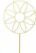 Gartendeko SONNENBLUME Gartenstab gelb