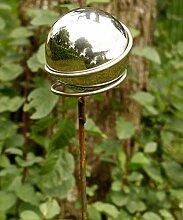 Gartendeko Stecker Lolly Pop Eisen Rost mit