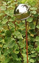 Gartendeko Stecker Lolly Pop Rost mit