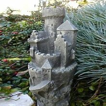 Gartendeko Steinfigur für den Garten - Rosenburg