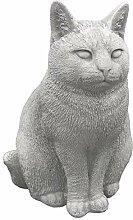 gartendekoparadies.de Massive Steinfigur Katze