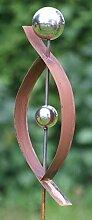 Gartendekoshop24 Rost Skulptur Modern Rost Stecker