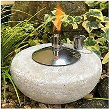 Gartenfackel Ölfackel Tischfackel Öllampe Garten