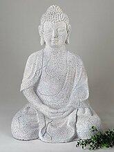 Gartenfigur 'Buddha', 50 cm, stein