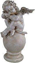 Gartenfigur 40 cm Hoch Engel 85067 Gartendeko