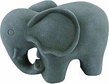 Gartenfigur Dekofigur Elefant Afrika Deko