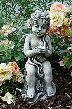 Gartenfigur Engel Buketta