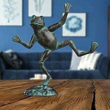 Gartenfigur Frosch Cullinan
