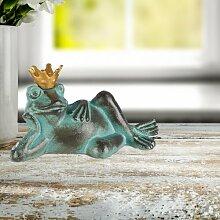 Gartenfigur Froschkönig Culley