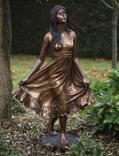 Gartenfigur Statue aus Bronze B 1143