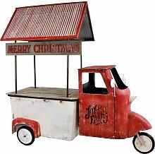 Gartenfigur Weihnachtsmobil Die Saisontruhe