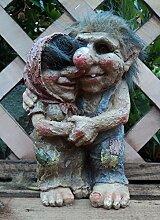 Gartenfiguren, Liebespaar Talula und Tarquin,