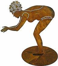 Gartenfiguren Metall Groß - Maritime Figur: Rost