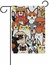 Gartenflaggen für Hunde, Katzen, Tiere,